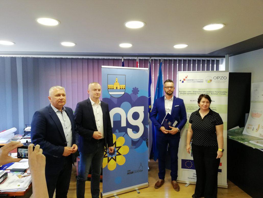 """Održana konferencija za medije """"Energetska obnova dječji vrtić """"Maslačak"""" """" Nova Gradiška"""