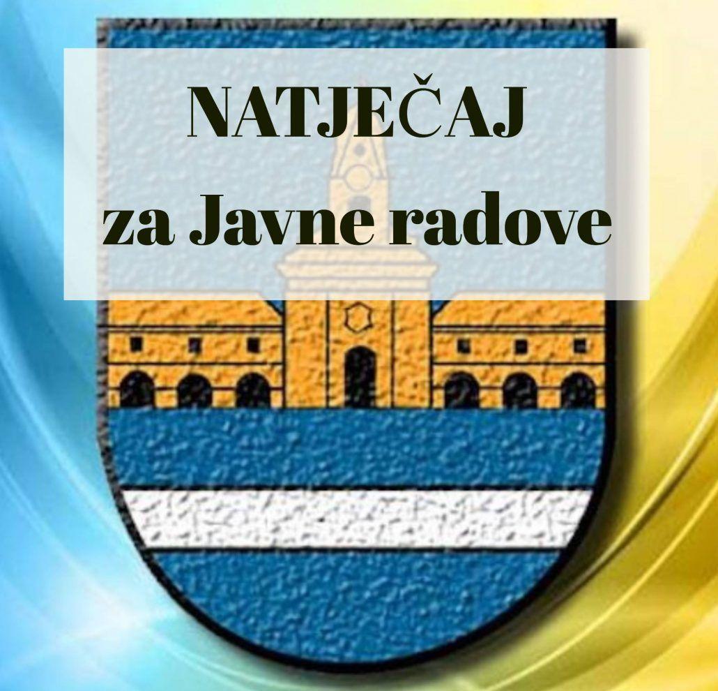 Grad Nova Gradiška raspisuje  natječaj za javne radove