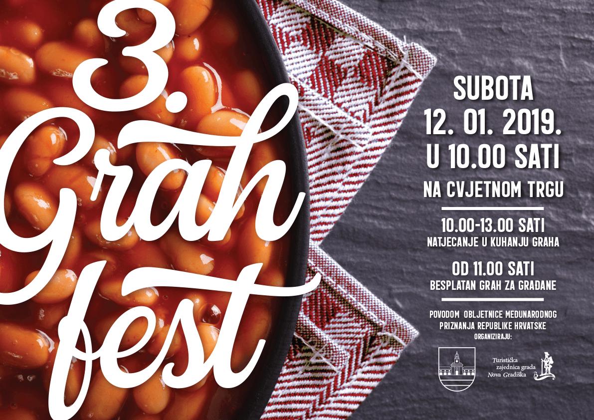 3. Grah fest – natjecanje u kuhanju graha