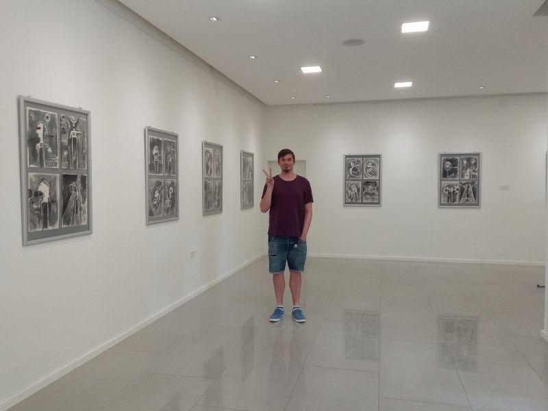 Izložba B kao bol, akademskog slikara Tomislava Šilipetra