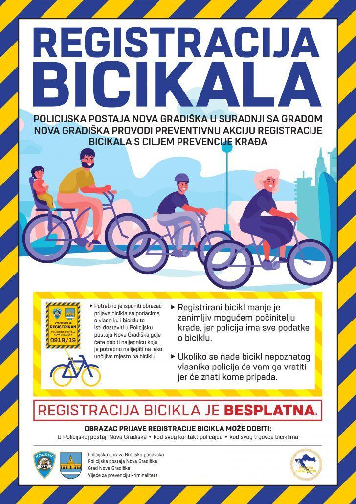 Registracija bicikla