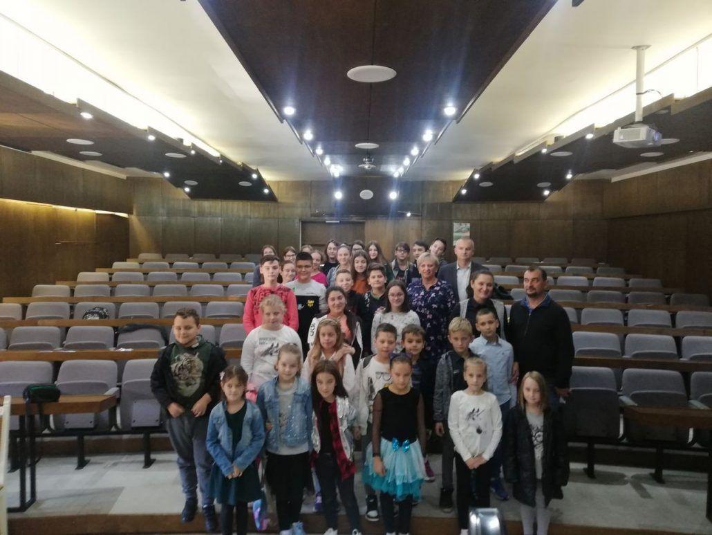 Posjet članova Dječjeg vijeća i Dječjeg foruma