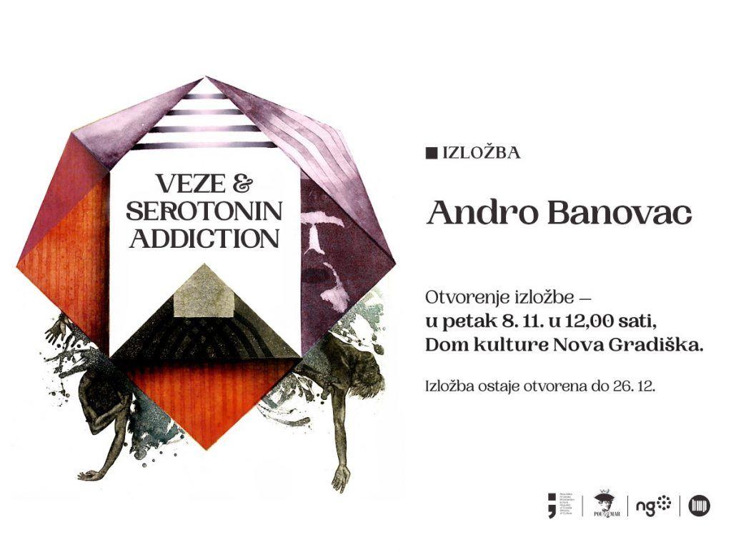 Izložba akademskog  slikara, mag. grafike Andre Banovca