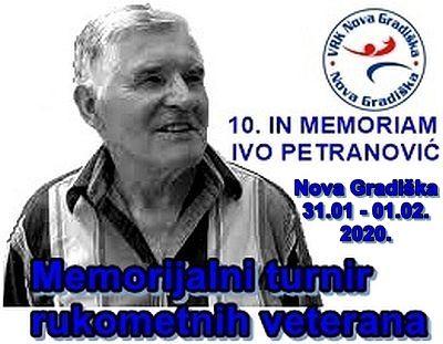 10. Međunarodni turnir rukometnih veterana IN MEMORIAM Ivo Petranović