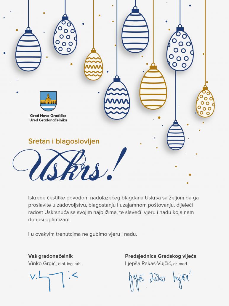 Sretan i blagoslovljen Uskrs !