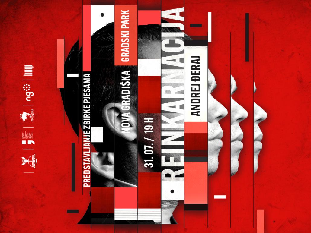Predstavljanja zbirke REINKARNACIJA – Andrej Đeraj