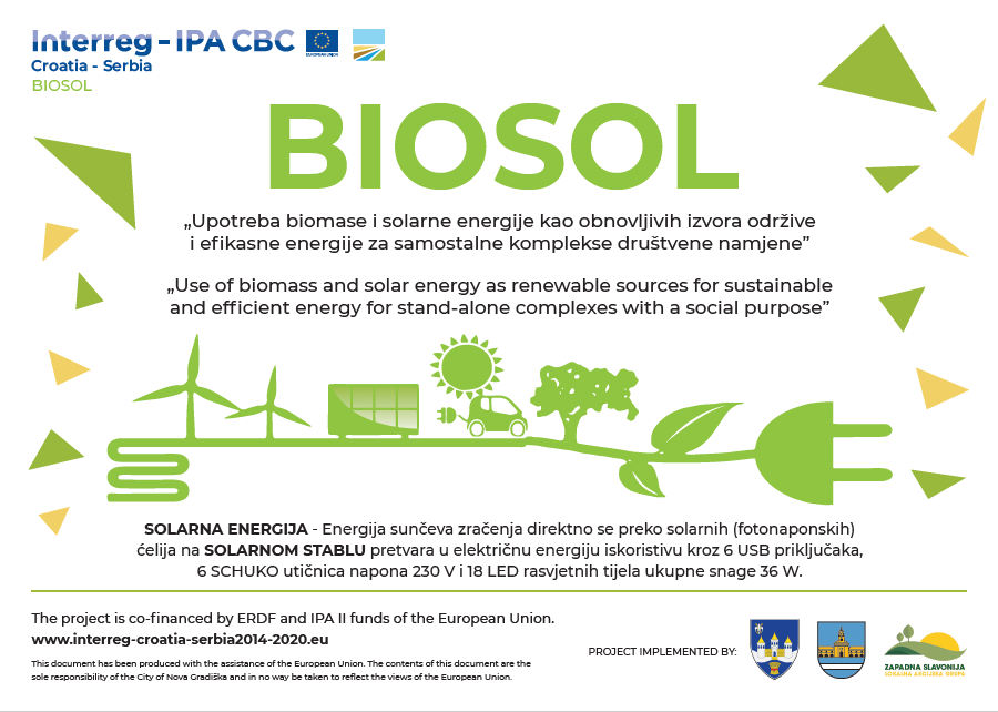 """U sklopu projekta """"BIOSOL"""" u centru grada je postavljeno """"Solarno stablo"""""""
