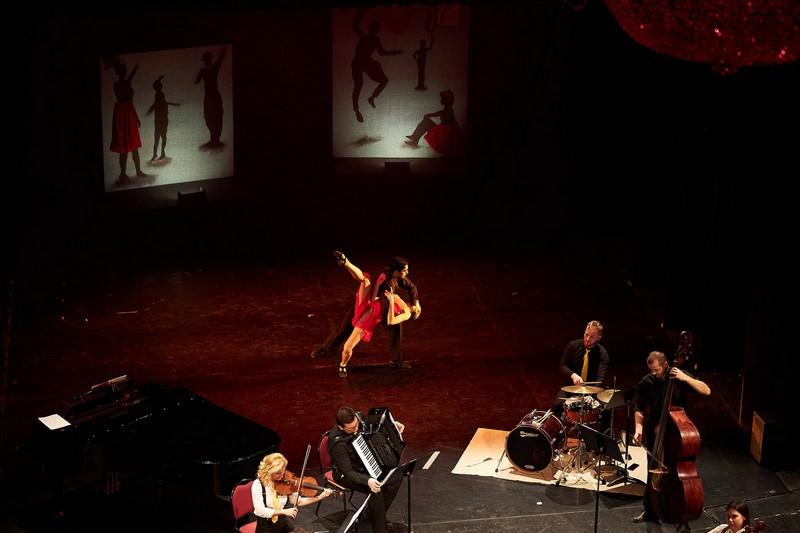 """Najava koncerta """"ZBOG LJUBAVI"""" u izvedbi solista, gudačkog kvarteta i baletnih umjetnika HNK u Osijeku."""