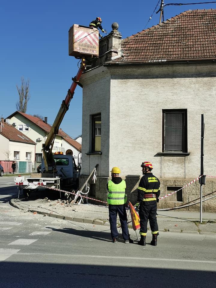 Sanacija štete prouzrokovane potresom u Novoj Gradiški