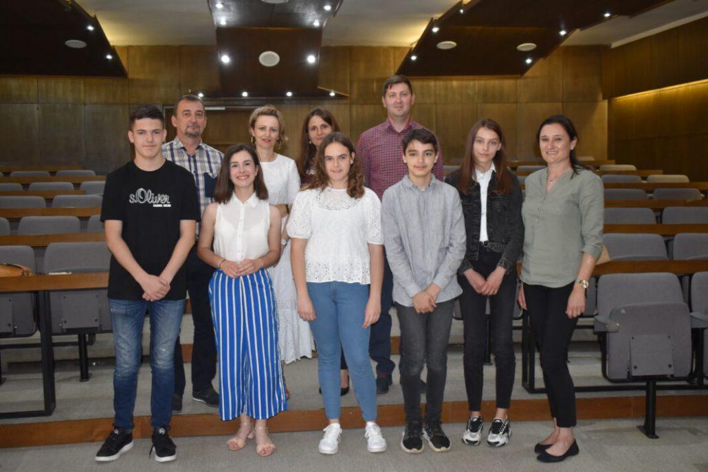 Svečana dodjela nagrada učenicima za uspjehe ostvarnim na državnim natjecanjima