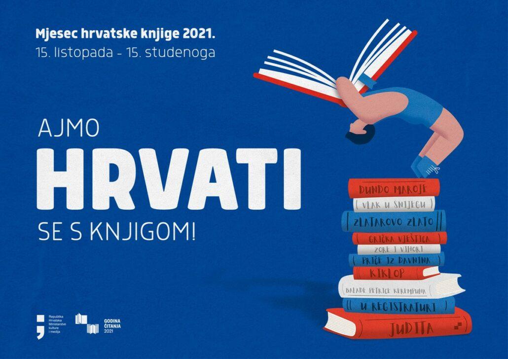 PROGRAM MJESECA HRVATSKE KNJIGE 2021. U GRADSKOJ KNJIŽNICI NOVA GRADIŠKA (15.10.-15.11.2021.)