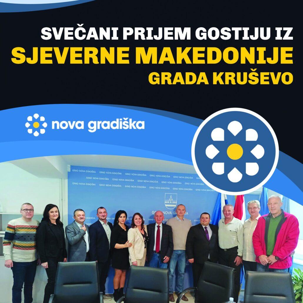 Delegacija Grada Kruševa u posjeti Gradu Nova Gradiška